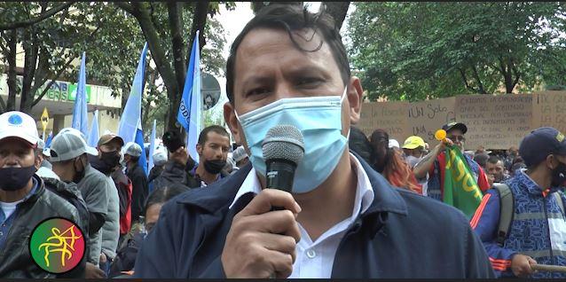 SINEDIAN acompaña la marcha de los recicladores en su día